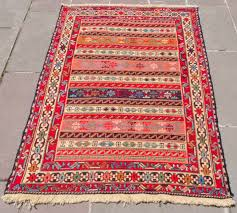 vintage turkish kars kilim runner rug 4 5 x 11 5