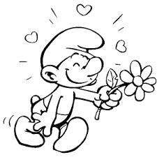 Lots Of Wonderful Smurfs Coloring Pages Leuk Voor Kids