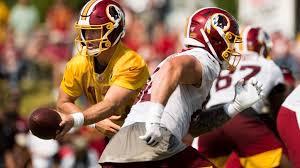 Washington Redskins Qb Depth Chart Qb Colt Mccoy Starter On Redskins First Official Depth Chart