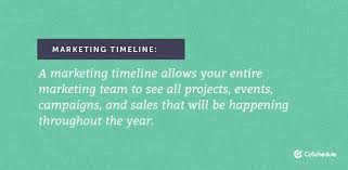 Marketing Timelines How To Plan And Organize Projects Events And