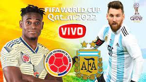 COLOMBIA VS ARGENTINA EN VIVO ELIMINATORIAS CATAR 2021 - YouTube
