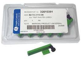 Chart Recorder Pens Chart Recorder Pen Green Pk6