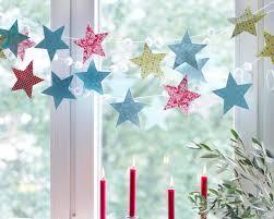 Girlande Aus Sternen Bild 9 Basteln Weihnachten