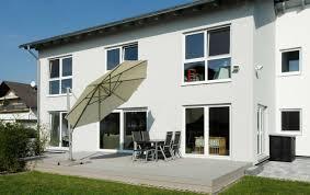 Partner Haus Architektenhaus Pultdach Kundenhaus