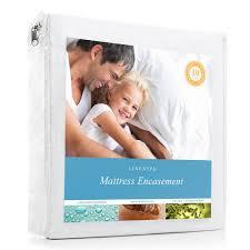 Linenspa Zippered Encasement Waterproof Dust Mite Proof Bed Bug