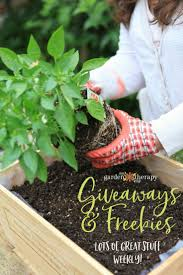 garden therapy s giveaways and freebies page is full of s and resources