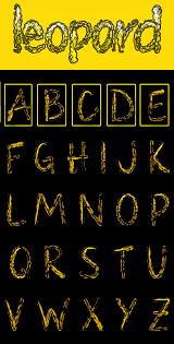 23 Large Alphabet Letter Templates Designs Free Premium Templates