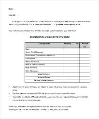 Increment Letter Template Adorable Salary Increment Letter Format From Hr To Employee Hike