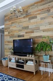 Before and After: Reclaimed Wood Accent Wall