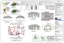 house plan in pdf inspirational simple 3 bedroom house plans pdf