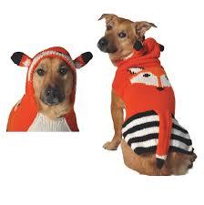 Foxy Hoodie Dog Sweater