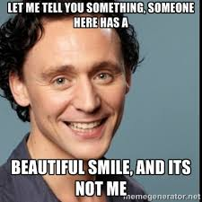 let me tell you something, someone here has a beautiful smile, and ... via Relatably.com