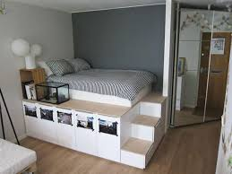 Storage And Platform Bed | Easy To Build DIY Platform Beds Perfect For Any  Home