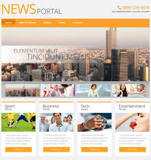 Newspaper Website Template Free Download 21 News Php Themes Templates Free Premium Templates