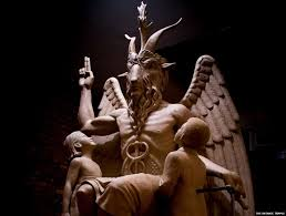 Decoding The Symbols On Satan S Statue Bbc News