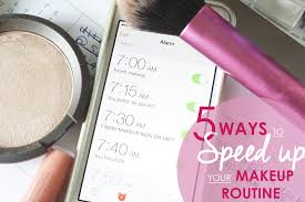 5 really simple ways to sd up your makeup routine great for putting your face on in the morning or for date night when you are in a rush