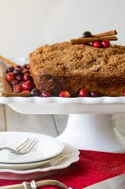 Coffee Cake Recipe with cranberries