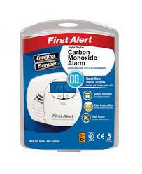 first alert digital carbon monoxide alarm co410uk