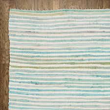 zipcode design blue striped area rug