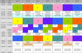 Elementary Master Schedule Template Rome Fontanacountryinn Com