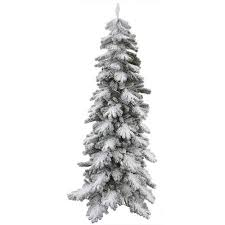 Cheap Slim Flocked Christmas Tree Find Slim Flocked Christmas Slim Flocked Christmas Trees Artificial