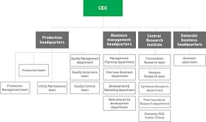 Pharmaceutical Company Organizational Chart Dasan Pharmaceutical