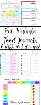 Diet And Fitness Journal Exercise Template Daily
