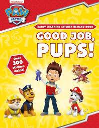Paw Patrol Good Job Pups Sticker Reward Book