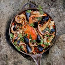 Seafood Paella Recipe - Bondi Harvest
