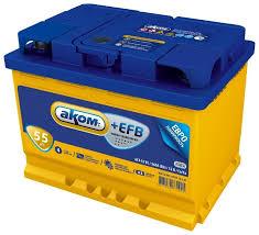 Купить Автомобильный аккумулятор <b>Аком</b> + <b>EFB 55Е</b> на Яндекс ...