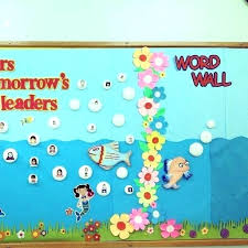 Classroom Wall Decoration With Charts Class Wall Decoration Ideas Room Pics Classroom Decorations