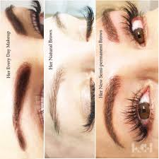 semi permanent makeup haniye ghajar eyelash extensions and eyebrow microblading in victoria bc and vancouver