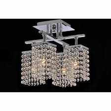 chrome crystal 4 light round ceiling chandelier stunning ceiling light fixtures low profile ceiling fan with light