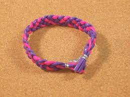 how to make a braided leather bracelet