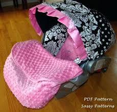 baby car seat covers pattern newborn car seat cover
