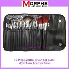 new morphe brushes 12 piece sable set w case