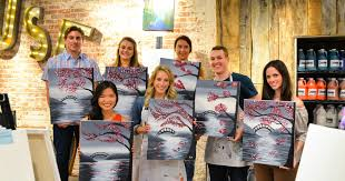 holiday parties muse paintbar