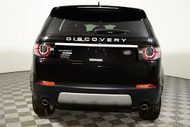 land rover discovery 2016 black. certified preowned 2016 land rover discovery sport hse luxury 20165 black