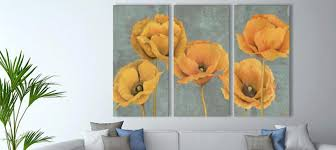 3 piece fl botanical canvas prints