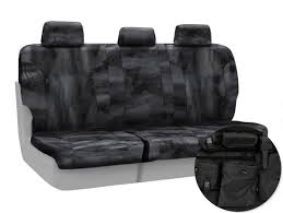 2016 2016 f150 coverking ballistic a tacs law enforcement camo rear seat covers black