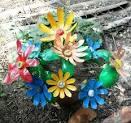 Цветы из бутылок пластиковых своими руками пошагово