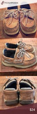 Sperry Little Kid Size Chart Sperry Leather Boatshoes Sz 10 Little Kid Great Pair Of