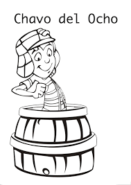 El Chavo Coloring Pages 3 Jpg