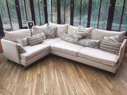 Old Sofa Corner Sofa Under 1yr Old With Scatter Cushions As New From A