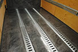 designer epoxy trailer flooring