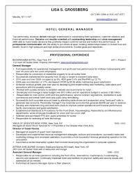 Maintenance Manager Resume Doc Best Of Hotel Cv Sample Alluring Job