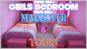 GIRLS BEDROOM MAKEOVER U0026 TOUR!: On A Budget! (Before U0026 After)    ModernMom4Life Daily Vlog   YouTube