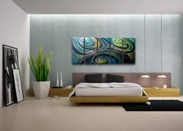 modern wall art decor bedroom