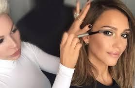 kim kardashian s makeup artist works with jessica alba