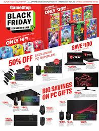 GameStop Early Black Friday Ad 2020